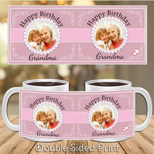 Personalised Happy Birthday PHOTO Mug N30